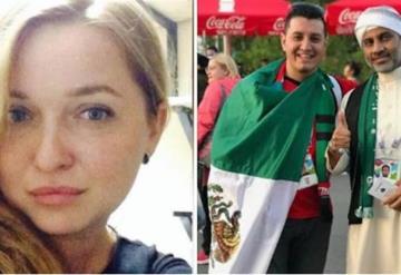 Mexicano desaparece del Mundial, tras salir con una extraña mujer rusa