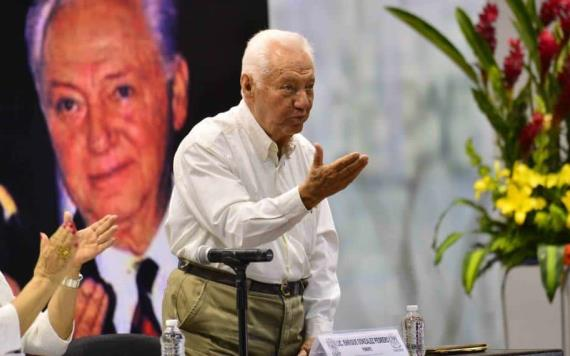 Presenta la UJAT documental de Enrique González Pedrero