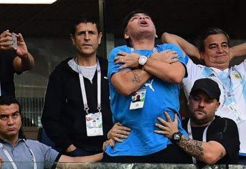 VIDEO: Así acabó Maradona tras el triunfo de Argentina