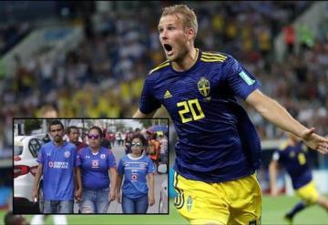 ¿Prohíben a suecos portar playera de Cruz Azul?