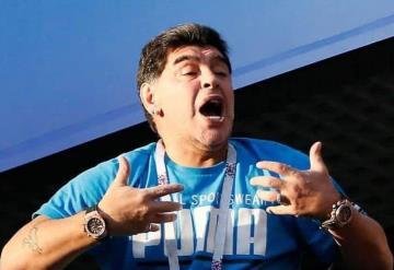 Destituyen a Maradona como embajador tras sus bochornosas actuaciones