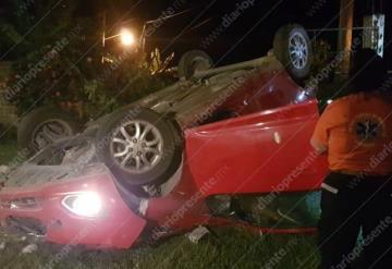 Aparatoso accidente deja tres muertos en Tabasco