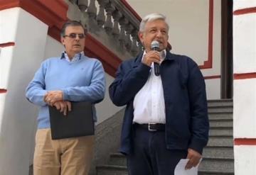 Pidió López Obrador a Trump trabajar en migración, el TLCAN...