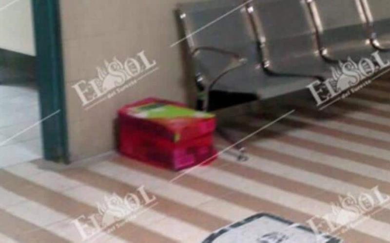Encuentran dos fetos dentro de una caja de cartón en IMSS de Villahermosa