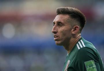 Héctor Herrera mostró su rostro tras cirugía