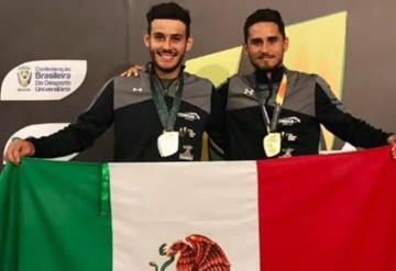 Tenista tabasqueño gana oro en Brasil