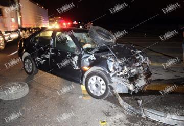 Ebrio conductor provoca accidente en la carretera Villahermosa - Cárdenas