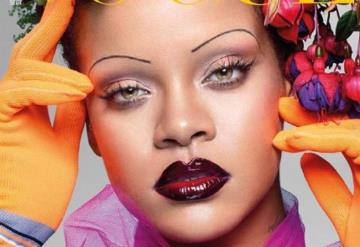 Las cejas de Rihanna están dando de qué hablar