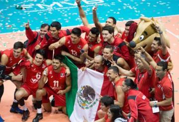 México se queda con el bronce dentro del voleibol varonil