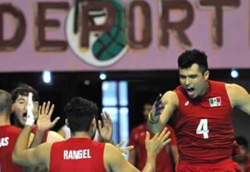 Tabasqueño Gonzalo Ruiz peleará por medalla de bronce en voleibol