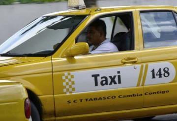 """""""Servicios de taxis deben ser con clima"""": SCT"""