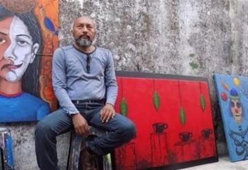 Artista cardenense traspasa fronteras