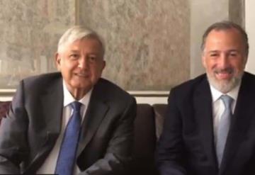 López Obrador y Meade se reúnen