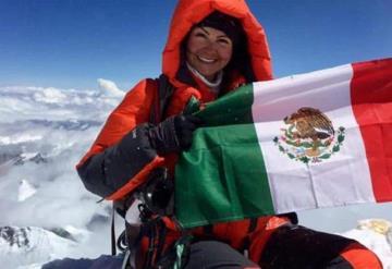 Mexicana conquista la cima de segunda montaña más alta del mundo