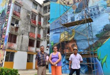 Habitantes de la la ciudad de colores hablan de su convivencia con AMLO