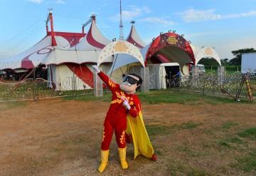 ¡El Sol brilla en el circo!