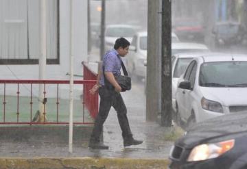 Prevén lluvias nocturnas en las próximas 48 horas