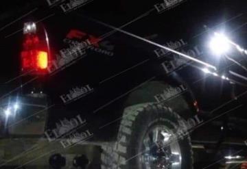 SSP recupera camioneta con reporte de robo y detiene a un sujeto