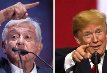 """Agradece AMLO a Trump """"prudencia"""" en sus comentarios"""