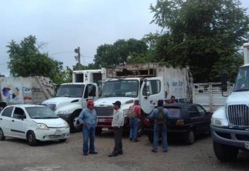 Recolectores de basura amenazan con suspender servicios