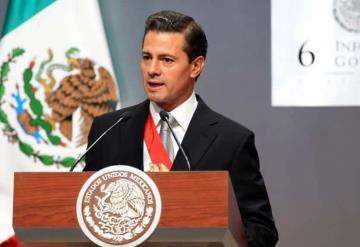 """""""Recuperación de paz y seguridad no se alcanzó"""": Peña Nieto en 6to Informe"""