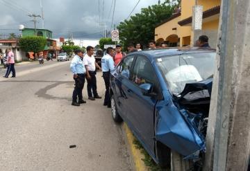 Accidente en la carretera Nacajuca-Jalpa de Méndez