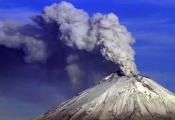 Popocatépetl registra 8 explosiones en las últimas 24 horas