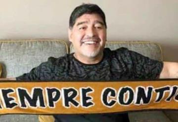 Maradona será presentado hoy como técnico de Dorados