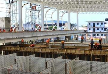 Así va la construcción del nuevo mercado público José María Pino Suárez