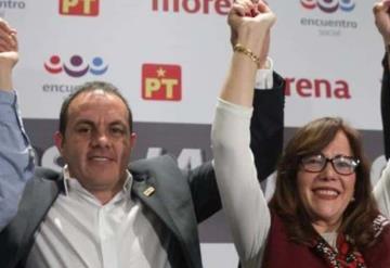 No sabe lo que pasa en Morelos: El Cuau a Yeidckol Polevnsky
