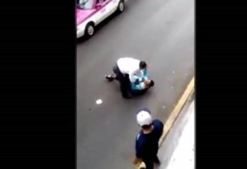 VIDEO: Taxista perdona a presunto asaltante y éste lo apuñala