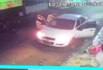 VIDEO Captan secuestro de estudiante de medicina en Veracruz