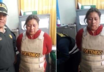 Mujer que abusaba de sus hijas es Capturada en Perú
