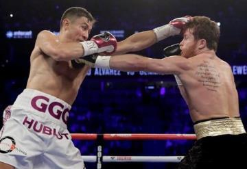 Así va la pelea entre Canelo vs. Golovkin; la pelea del año