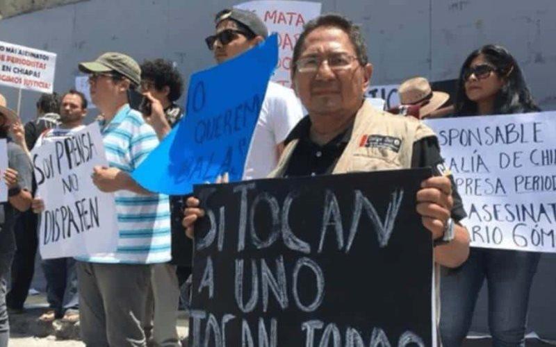 Quítenle mi nombre a la nota pidió el periodista Mario Gómez