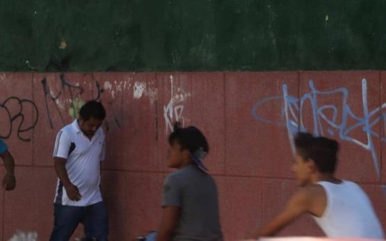 Vandalismo y abandono en el corazón de Villahermosa