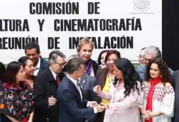 Propone Sergio Mayer renombrar la Comisión de Cultura