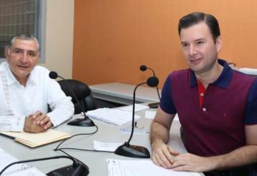 Con transparencia y contra corrupción: Adán Augusto López