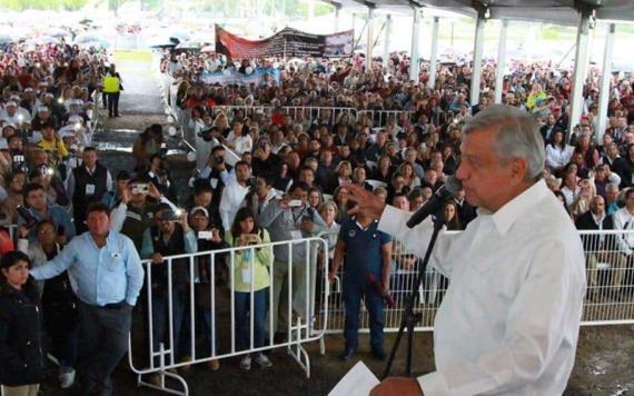 AMLO ofrecerá trabajo a centroamericanos