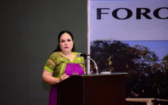 Senadora de Morena a favor de que se les conceda la entrada a territorio mexicano a migrantes