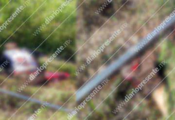 Tren mutila a un hombre en Emiliano Zapata