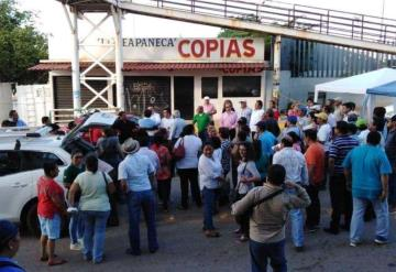 Personal administrativo de la SETAB desbloquean Méndez y Usumacinta