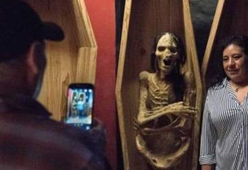 En este museo los visitantes pueden convivir con la muerte