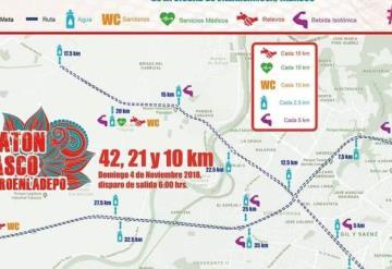 ¡ATENCIÓN! Se cerrará circulación este domingo en varios puntos de Villahermosa por Maratón