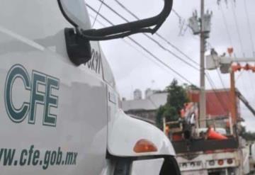 Municipios de Tabasco adeudan a CFE 148 millones de pesos