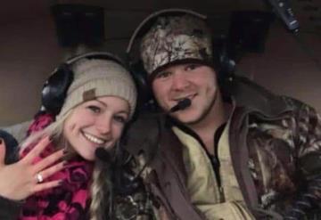 Muere pareja de recién casados en accidente aéreo tras su boda