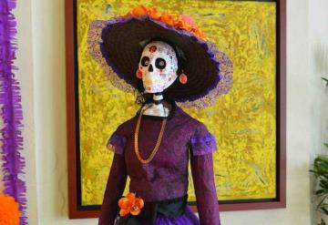 El extranjero adopta a la Catrina como disfraz de Halloween y en México se venera en Día de Muertos