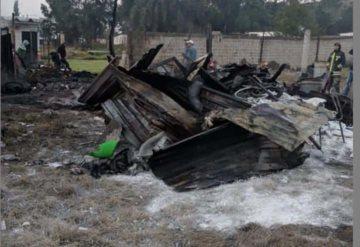 Se registra doble explosión de polvorines en Tultepec