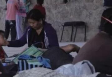 Familias huyen para no ser asesinados en comunidad de Guerrero
