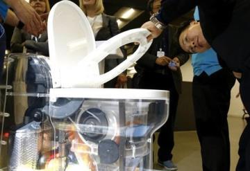 Presentan en China un baño que no necesita agua
